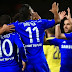 UEFA Champions League: Chelsea 6-0 Maribor.