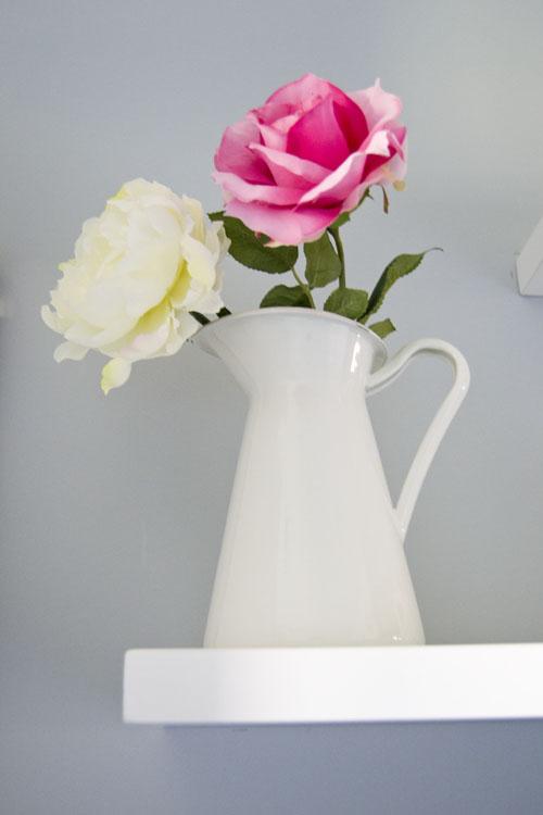 Sockerart florero jarron blanco ikea