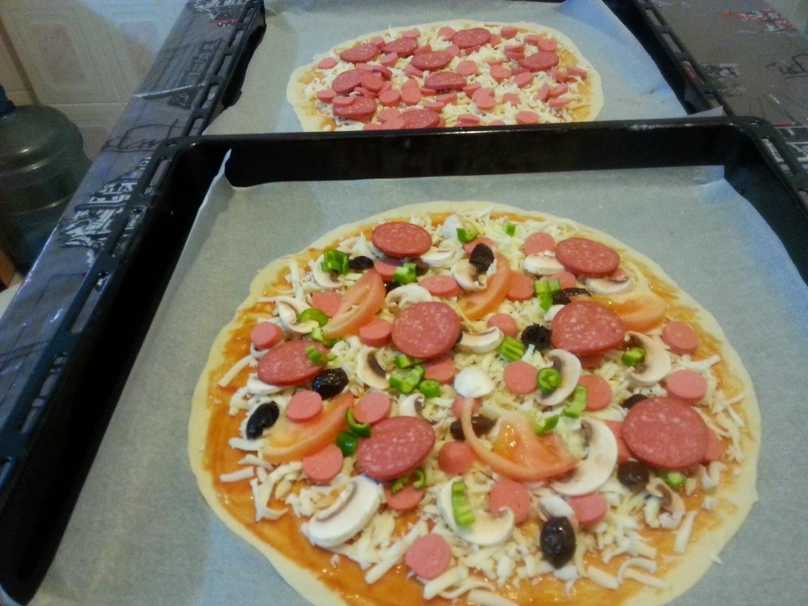 pizza,karışık pizza tarifi