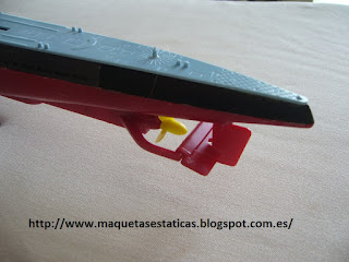 motor model submarine U-boat type IXB