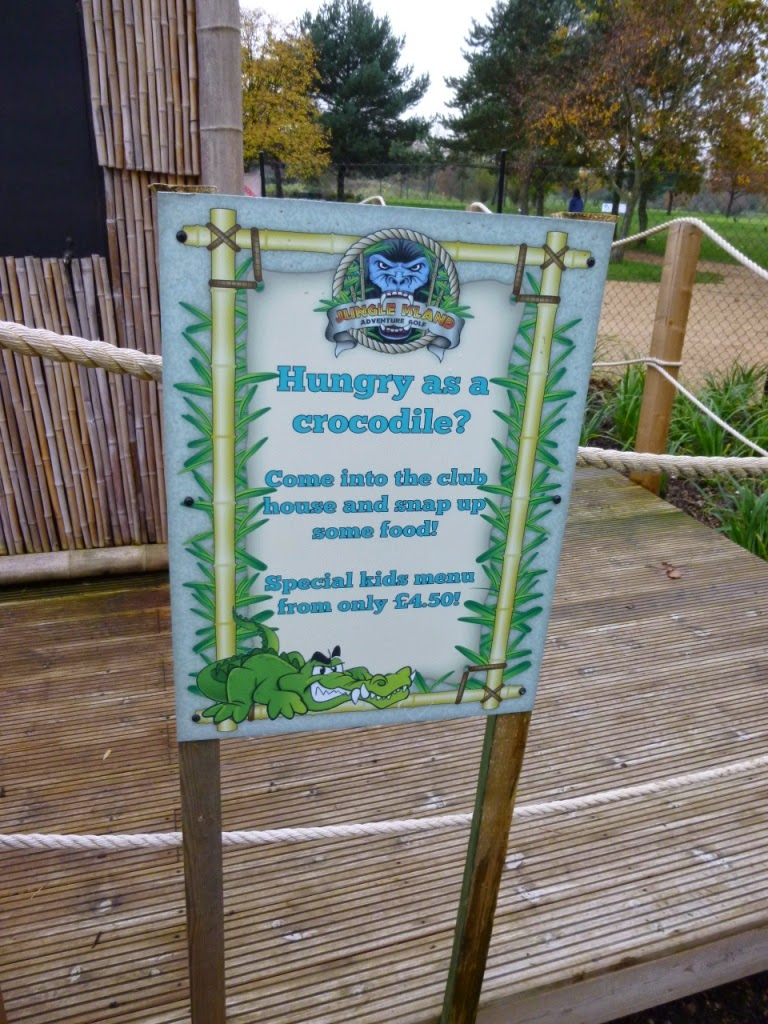 Hungry as a crocodile after your round on the Jungle Island Adventure Golf course? Then head to the club house to snap up some food at Horton Park Golf Club in Epsom, Surrey