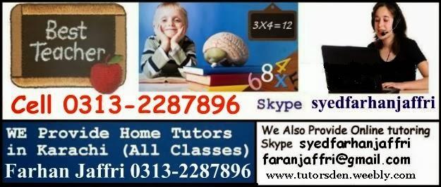 O-level tutor karachi, O-level tuition karachi, O-level teacher karachi, A-level 0313-2287896