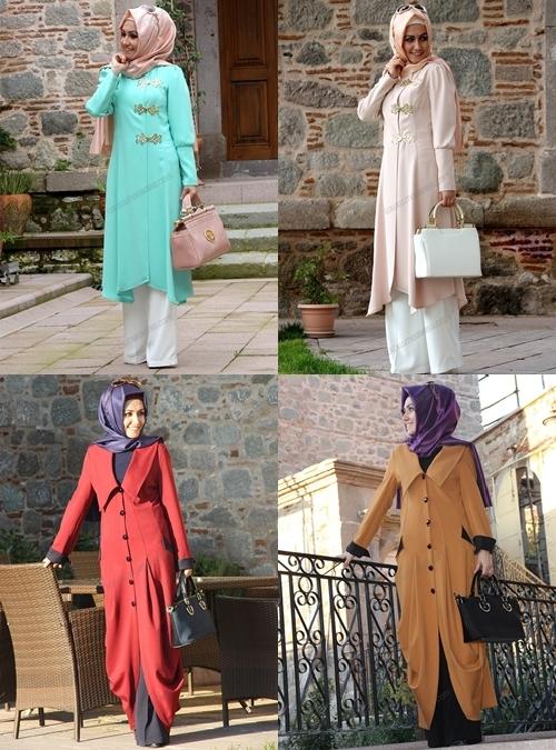 Pınar Şems Sonbahar Tesettür Giyim Modelleri