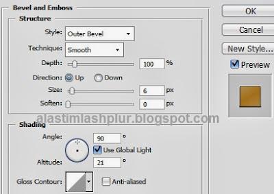 Cara Membuat Efek Teks Keren Bergaya Retro Dengan Photoshop