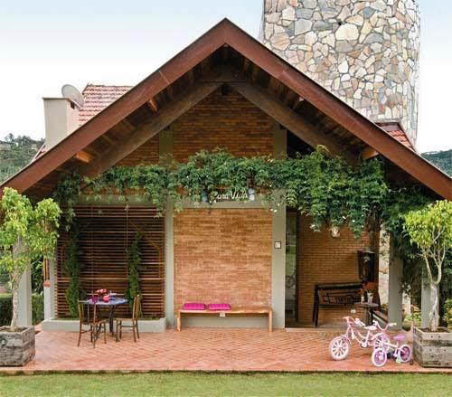 Projeto de casas de madeira r sticas fotos for Fotos de casas rusticas