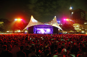Main Stage at Sydney Festival