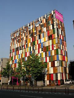 مبنى في كوريا بألف باب