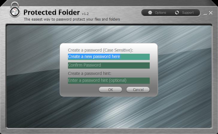 資料夾加密、檔案隱藏軟體推薦下載:Protected Folder