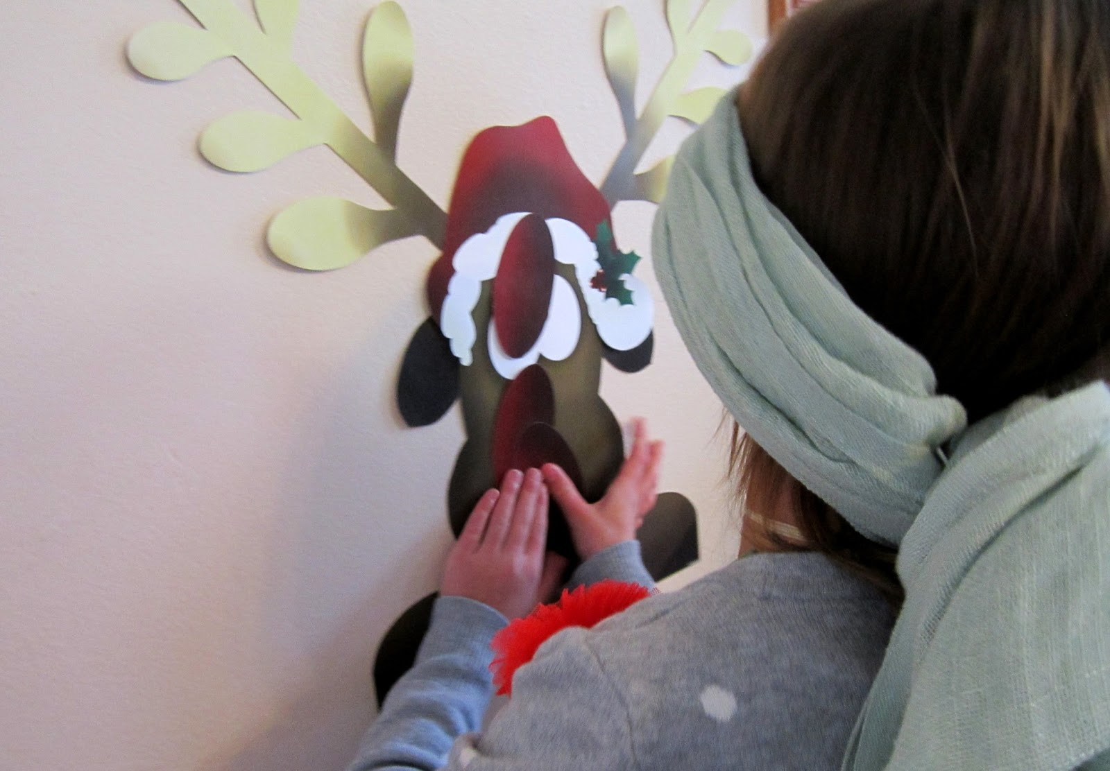 Pin the Nose On Rudolph Game Printable