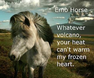 emo horse volcano