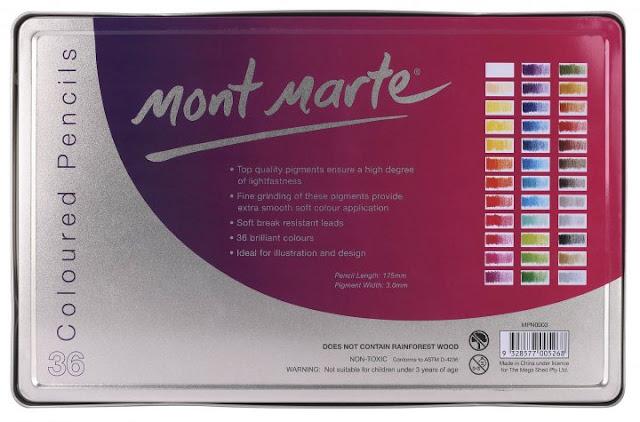 ادوات الرسم مونت مارت