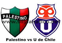 Universidad de Chile vs Palestino 2012