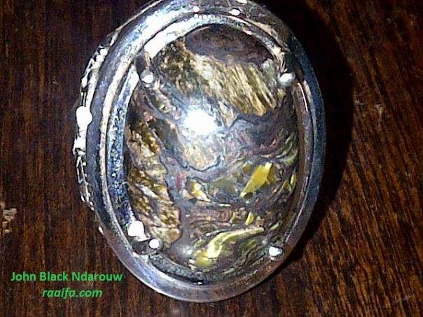 Batu cincin unik dan menarik koleksi John Black