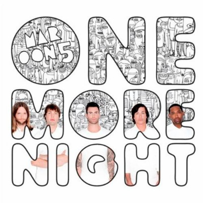 V Album Cover Maroon 5 Terjemahan lagu One More Night - Maroon5 | lirikwesternindo