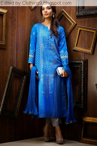 ZEEN Cambric Party Wear 2015-16