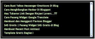 Cara Membuat Fungsi Scroll pada Blog, fungsi scroll, scroll blog