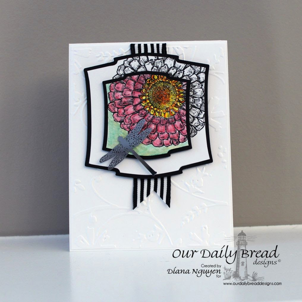 Diana Nguyen, Zinnia, Our Daily Bread Designs