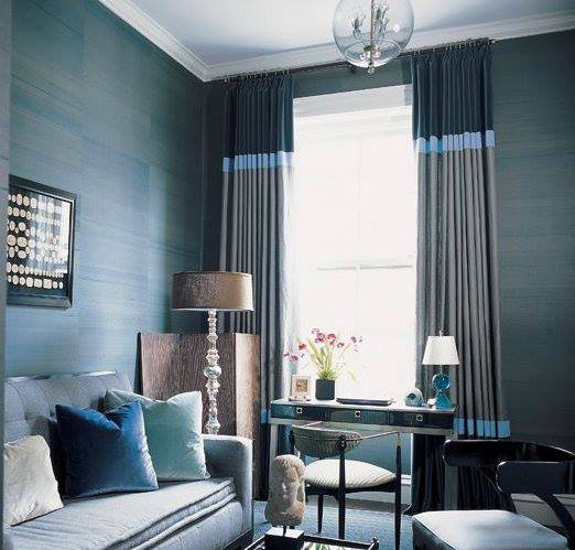 2013 luxury living room curtains designs ideas for Curtains in a living room