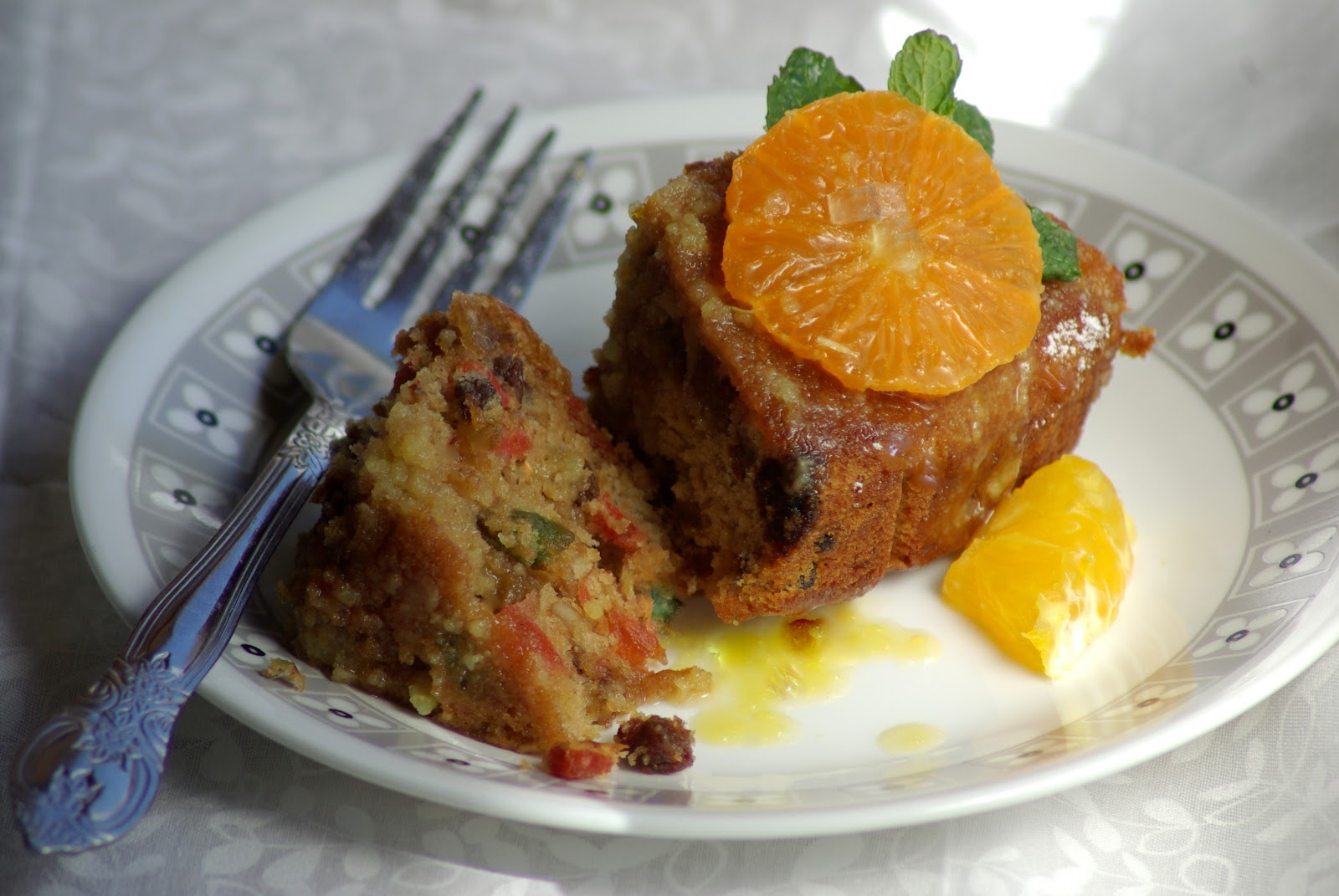 elephants and the coconut trees: Fruit cake with orange and rum ...