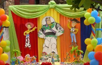 Decoraciones para fiestas de Toy Story