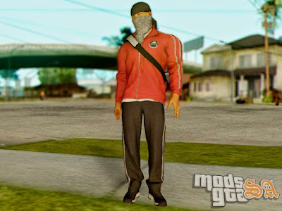 Skin Professional Gang do Battlefield Hardline para GTA San Andreas