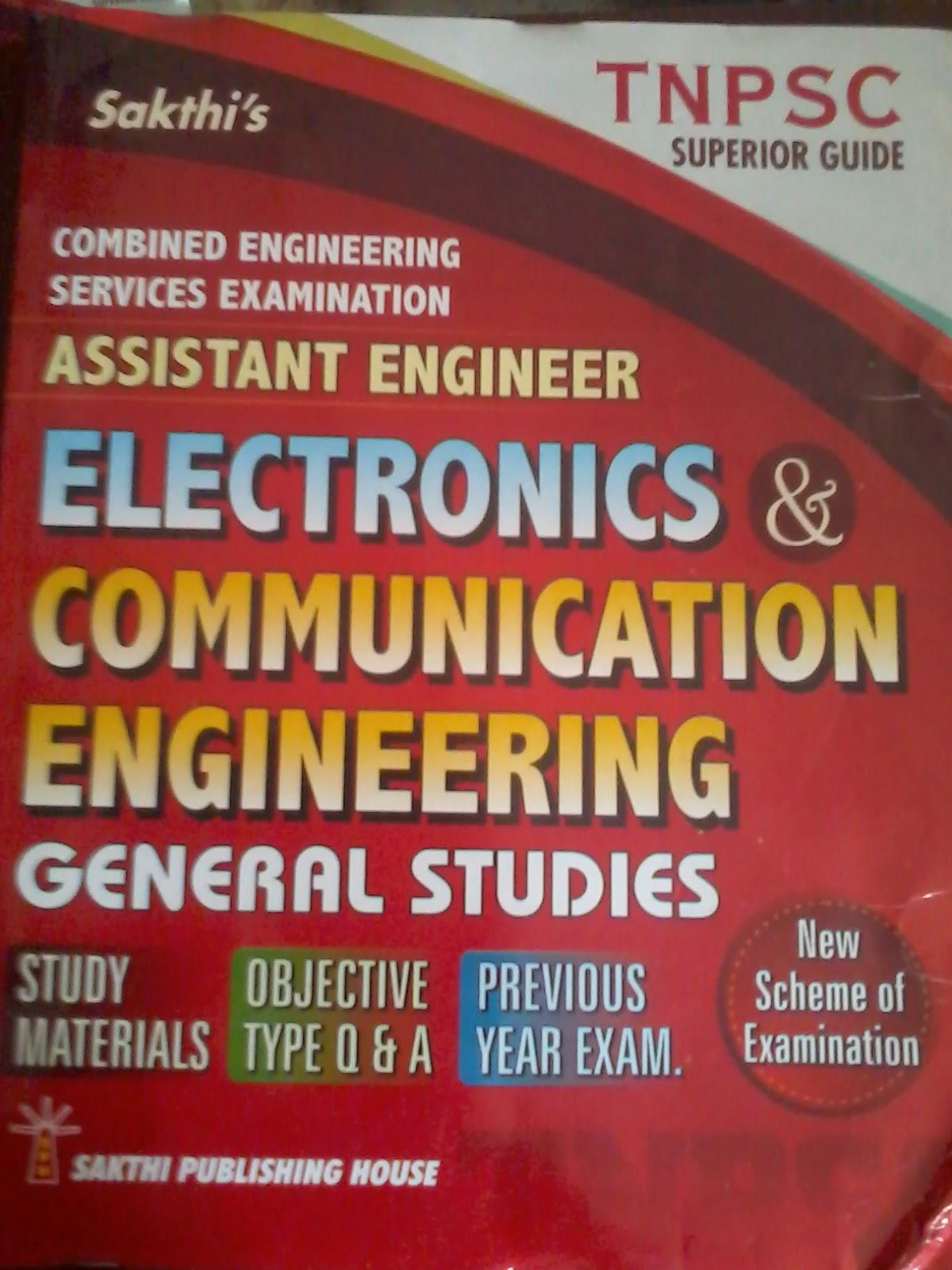 Assistant Engineer -Electronics & Communication Engineering by Sakthi