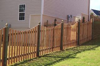 Деревянный забор. Фото 99