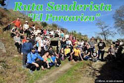 """RUTA SENDERISTA """"EL PORCARIZO"""" 2019"""