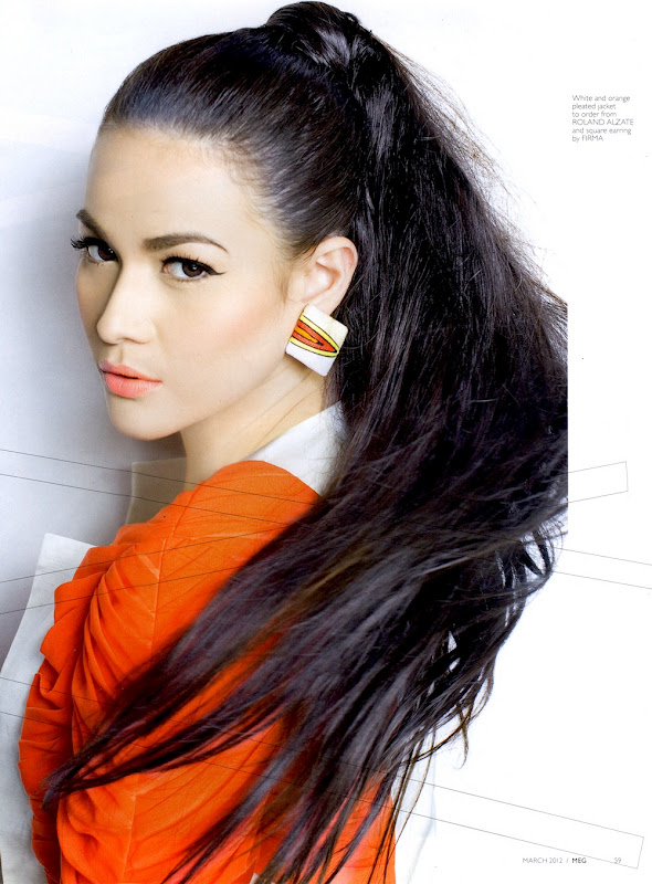 Bold and beautiful Bea Alonzo in Editorial for Meg Magazine (March