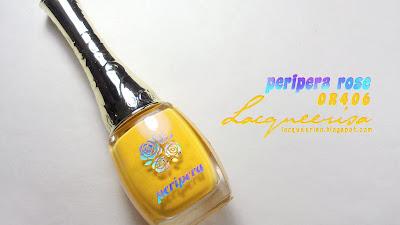 Lacqueerisa: Peripera (Rose Scent) OR406