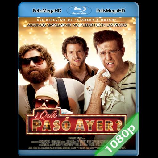 ¿Que Paso Ayer? (2009) 1080P HD MKV ESPAÑOL LATINO