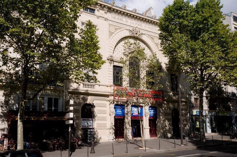 Blue lion guides hugo paris au th tre de la porte saint martin - Theatre porte saint martin ...