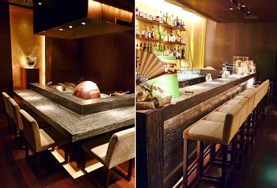 Eiji nakamura inagiku at ifc hong kong for O bar private dining room