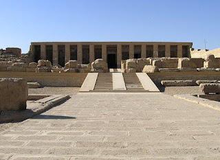 معبد الملك سيتى الأول بأبيدوس