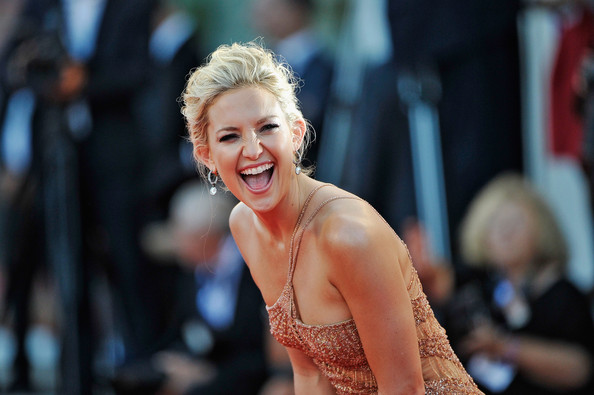 Kate Hudson laughing