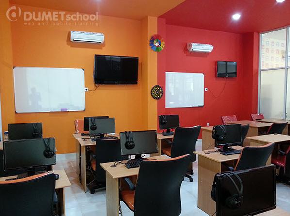 Ruang Kelas Kursus SEO di Dumet School