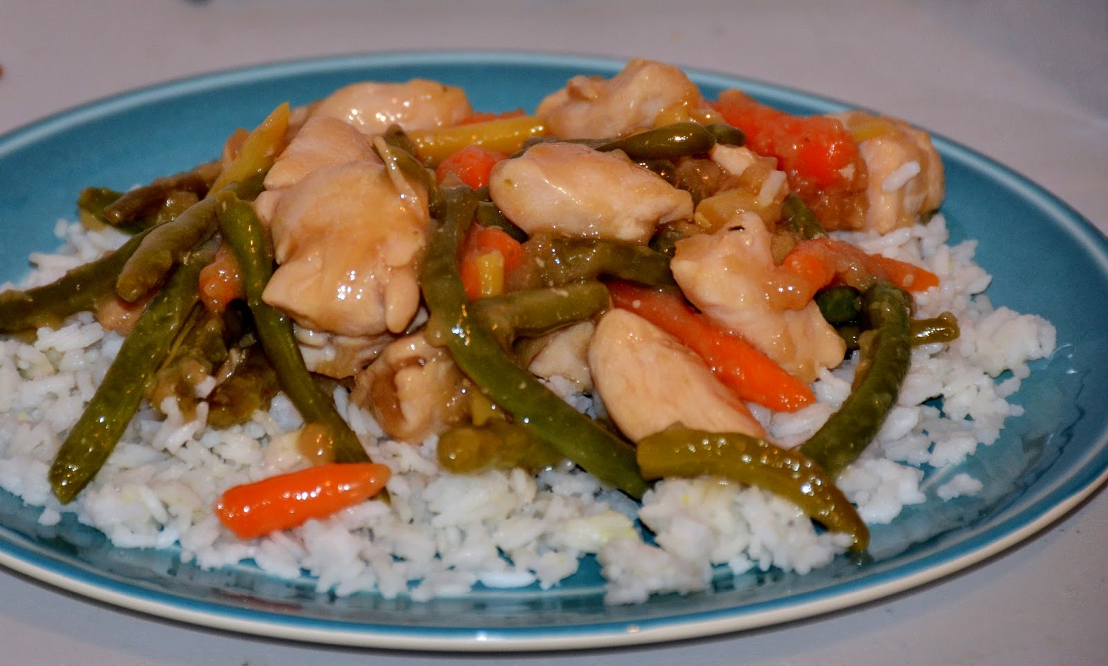 how to make stir fry chicken and vegetables