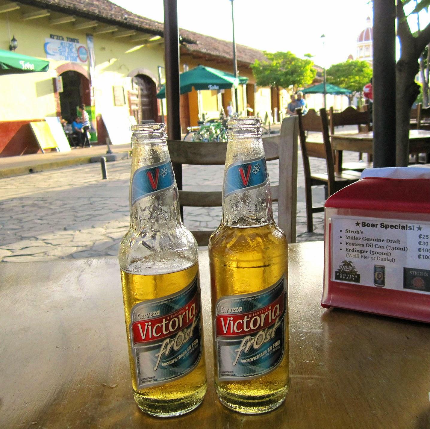 Victoria Frost en Granada (Nicaragua)