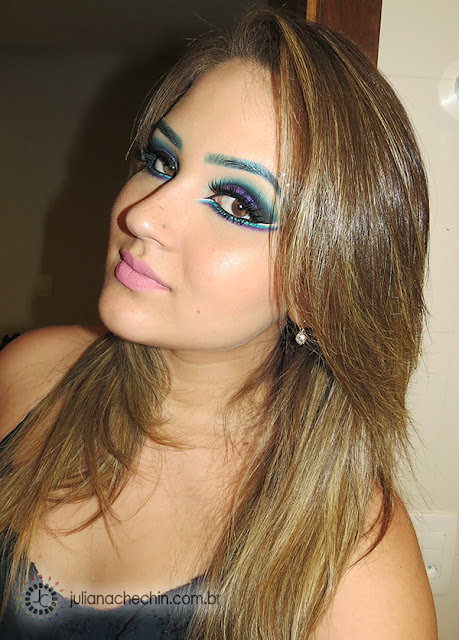 tutorial de maquiagem juliana chechin