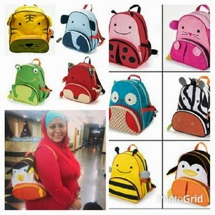 PRE ORDER : BACKPACK KIDS (SMALL RM19 not include postage)