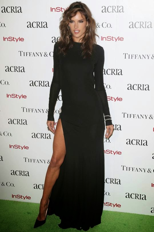 Alessandra Ambrosio Looking Hot in Acria Holiday Dinner in New York