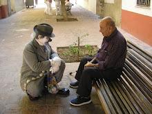 Mis compañeros de la Residencia en Alzira- Valencia 2009