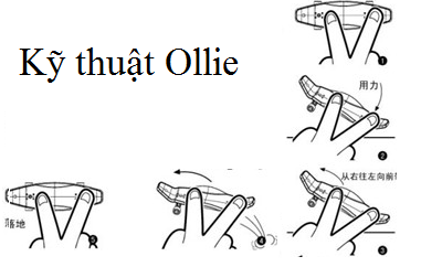Kỹ Thuật Ollie Bật Ván Trượt Tay