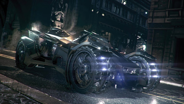 New Batmobile Arkham Knight 2n