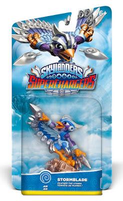 TOYS : JUGUETES - Skylanders SuperChargers  Stormblade | Figura - muñeco  Producto Oficial | Videojuego | Activicion 2015 | A partir de 6 años Comprar en Amazon España & buy Amazon USA