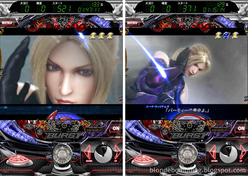 Tekken Pachinko Nina CG