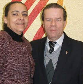 Pr Dr Elias Cardoso e Missª Ligia