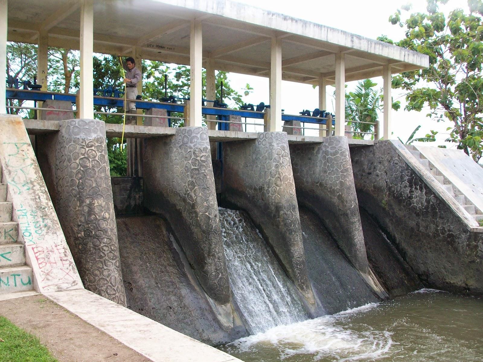 contoh gambar desain bangunan air rancang griya
