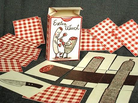 Zentralverband Naturdram, Knackwust; Knackwurstwissen: Knackiges Spielchen