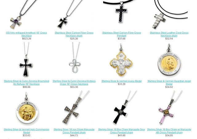 Religious Jewelry for Men at JewelryAdviser.com